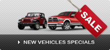 New Vehicles Specials