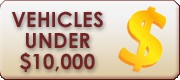 Vehicles Under $10,000