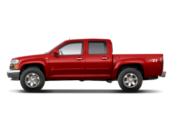 2011 CHEVROLET COLORADO CREW CAB LT 4WD