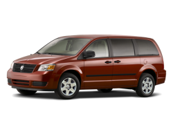 Used 2008 DODGE GRAND CARAVAN SXT Chamberlain South Dakota - Front View