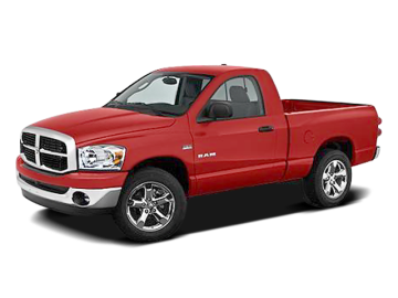 2008 DODGE RAM 1500 ST - Front View