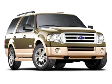2008 FORD EXPEDITION EDDIE BAUER - Front View