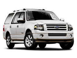 2008 FORD EXPEDITION EL  - Front View