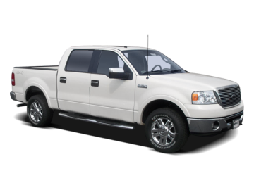 2008 FORD F-150 SUPERCREW - Front View