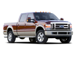 2008 FORD F-250  - Front View