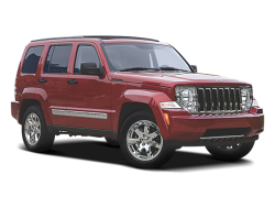 USED 2008 JEEP LIBERTY WAGON 4 DOOR - Front View
