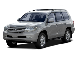 2008 TOYOTA LAND CRUISER  - Front View