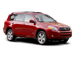 USED 2008 TOYOTA RAV4 WAGON 4 DOOR - Front View