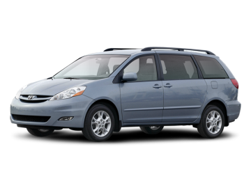 2008 TOYOTA SIENNA XLE - Front View