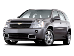 2009 CHEVROLET EQUINOX  - Front View