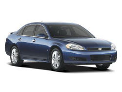 USED 2009 CHEVROLET IMPALA SEDAN 4 DOOR - Front View