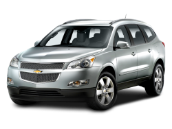 Used 2009 CHEVROLET TRAVERSE LT W-2LT - Front View
