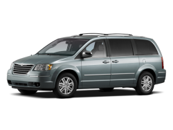 2009 CHRYSLER TOWN & COUNTRY  - Front View