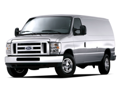 USED 2009 FORD ECONOLINE COMMERCIAL Rock Island Illinois - Front View