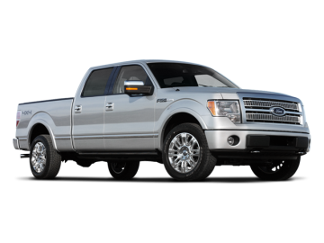 2009 FORD F-150 Supercrew 4X4 - Front View