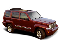 USED 2009 JEEP LIBERTY WAGON 4 DOOR - Front View