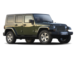 2009 JEEP WRANGLER UNLIMITED  - Front View