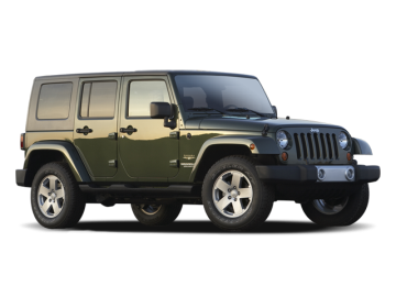2009 JEEP WRANGLER UNLIMITED X 4X4 - Front View