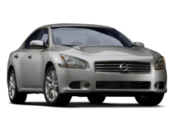 2009 NISSAN MAXIMA  - Front View