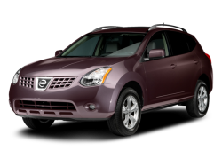 2009 NISSAN ROGUE  - Front View