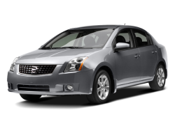 2009 NISSAN SENTRA  - Front View