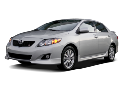 Used 2009 TOYOTA COROLLA - Front View