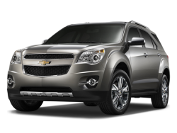 2010 CHEVROLET EQUINOX  - Front View