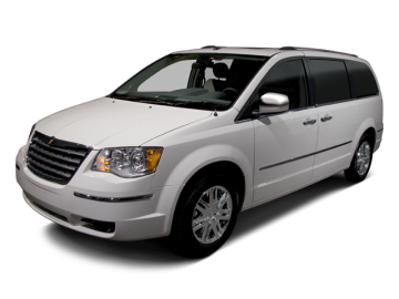 2010 CHRYSLER TOWN & COUNTRY TOURING - Front View