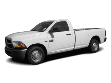 2010 DODGE RAM 2500  - Front View