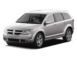USED 2010 DODGE JOURNEY SXT South Bend Indiana - Front View