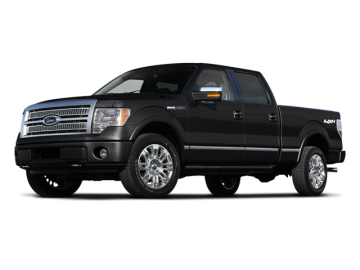2010 FORD F-150 SUPER CAB - Front View