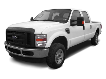 2010 FORD F-250 SUPER DUTY - Front View