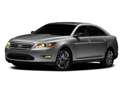 2010 FORD TAURUS  - Front View
