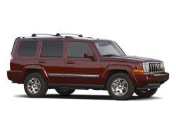 2010 JEEP COMMANDER  - Front View