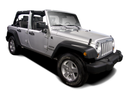 2010 JEEP WRANGLER UNLIMITED  - Front View