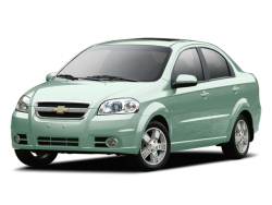 2011 CHEVROLET AVEO LT - Front View