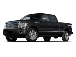 2011 FORD F-150  - Front View