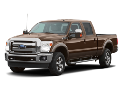 2011 FORD F-350 SUPER DUTY  - Front View