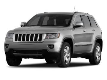 2011 JEEP GRAND CHEROKEE OVERLAND - Front View