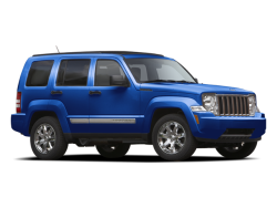 2011 JEEP LIBERTY SPORT - Front View