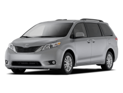 2011 TOYOTA SIENNA  - Front View