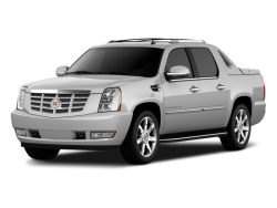 2012 CADILLAC ESCALADE EXT  - Front View