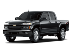 2012 CHEVROLET COLORADO  - Front View