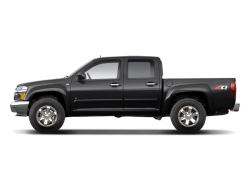 2012 CHEVROLET COLORADO  - Side View
