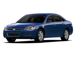 2012 CHEVROLET IMPALA  - Front View
