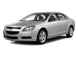 USED 2012 CHEVROLET MALIBU SEDAN Luverne Minnesota - Front View