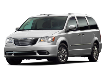2012 CHRYSLER TOWN & COUNTRY  - Front View