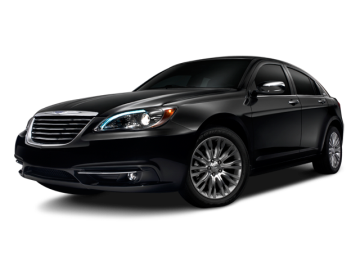 2012 CHRYSLER 200 LX - Front View