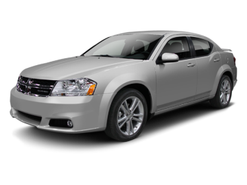 2012 DODGE AVENGER  - Front View