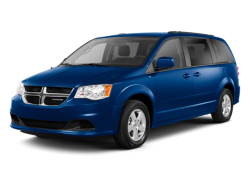 2012 DODGE GRAND CARAVAN  - Front View